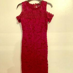 Lace Mid Dress